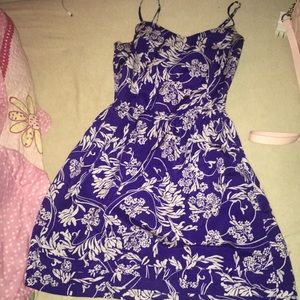 Gap purple dress